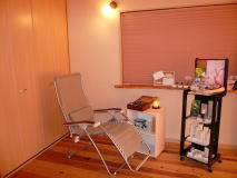 Aromatherapy treatment room  amie